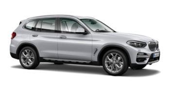 BMW X3 XDRIVE 20D Model xLine – srebrny