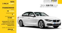 BMW 318i F30 2018 – biały